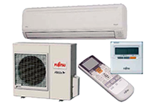 Wall mounted split system air conditioner